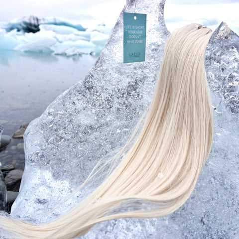 Ice Ice Baby: Laced Hair Color #32 Ice