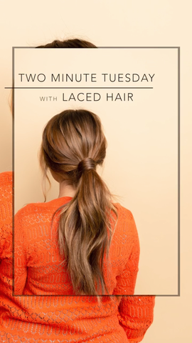 Two Minute Tuesday: Hair Wrapped Pony