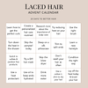Achieve #HairGoals with this 20 Day Laced Hair Advent Calendar