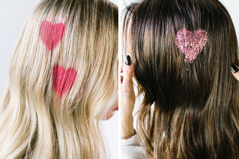 Valentines Day- Add Hearts to Your Hair
