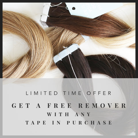 Free Gift with Tape In Extension Purchase!