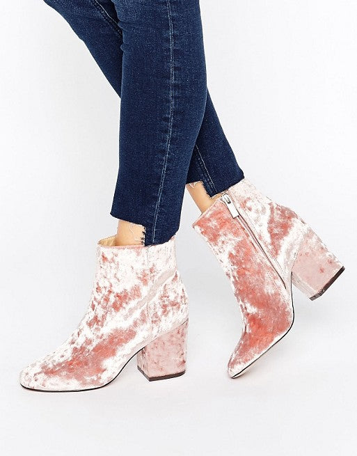 Laced Hair Extensions | ASOS Velvet Bootie