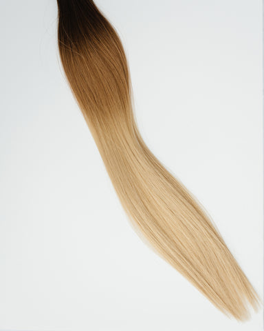 ombre hair extension autumn