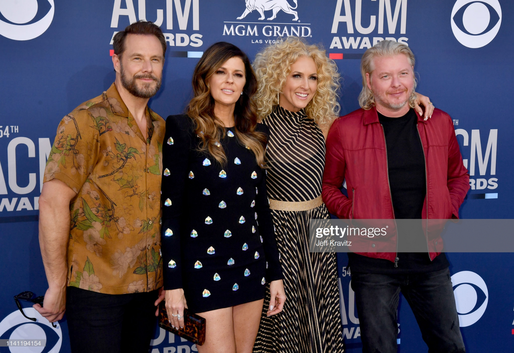 little big town at the acm awards