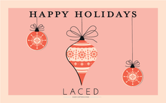 Laced Hair holiday gift card