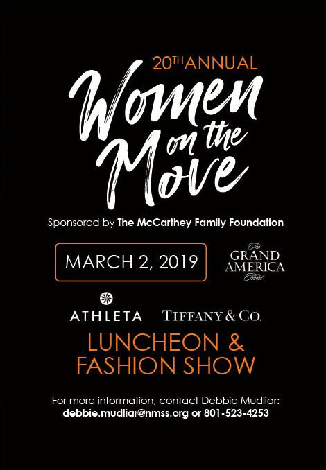 invite to women on the move luncheon event