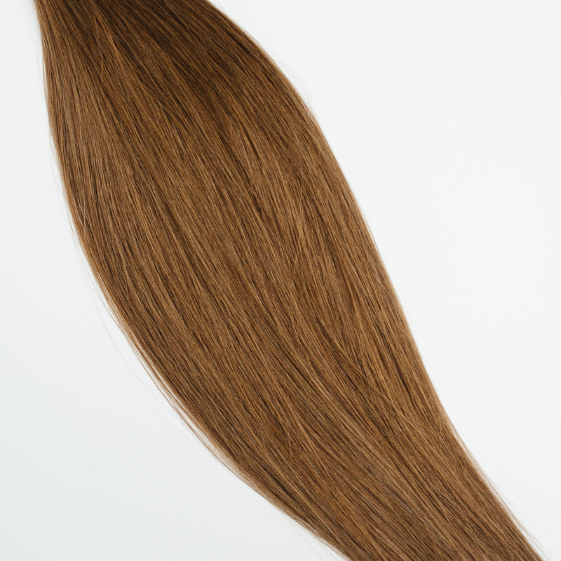 Laced Hair Machine Sewn Weft Extensions #5 (Caramel)