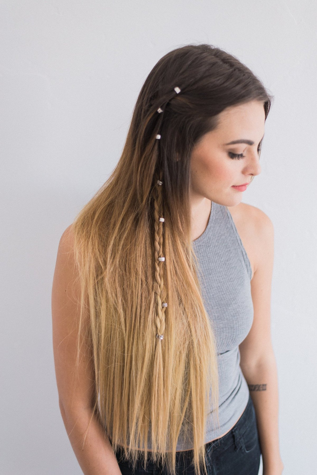 Laced Hair Clip-In Extensions Ombré #2/10/16 (Autumn Ombré)