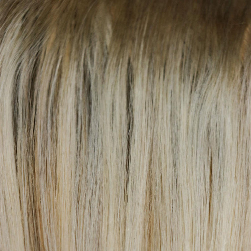 Beachwashed X Laced Hair Hand Tied Weft Extensions - Shell