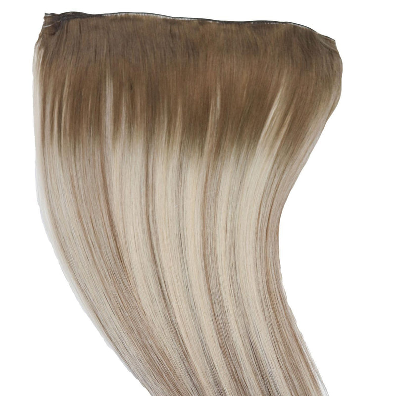 Beachwashed X Laced Hair Machine Sewn Weft Extensions - Salt