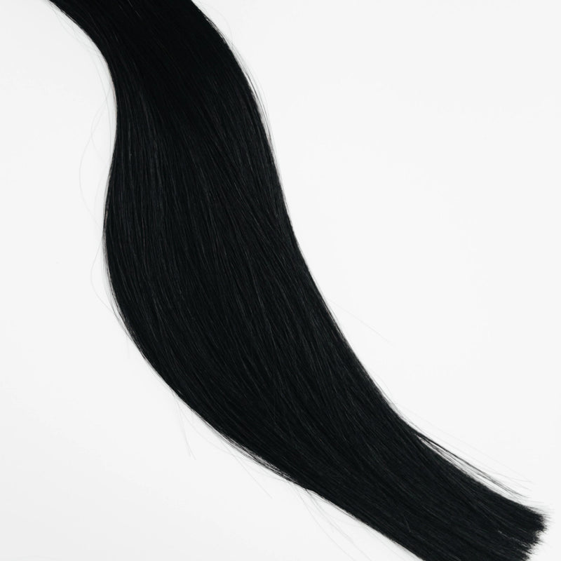 Clip-In - Laced Hair Clip-In Extensions #1 (Black Noir)