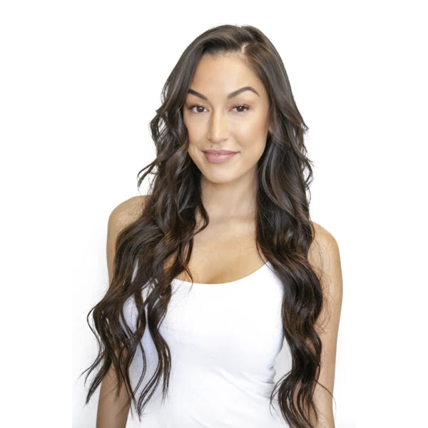 Clip-In - Laced Hair Clip-In Extensions #1B (Dark Roast)