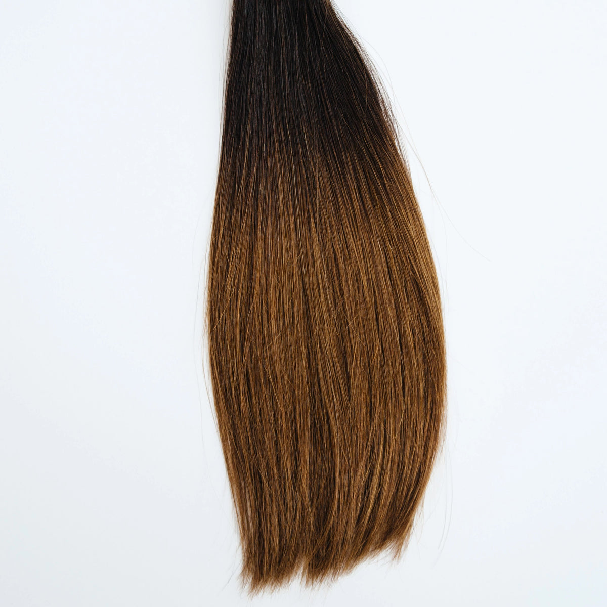 Clip-In - Laced Hair Clip-In Extensions Ombré #1B/5 (Caramel Latte)