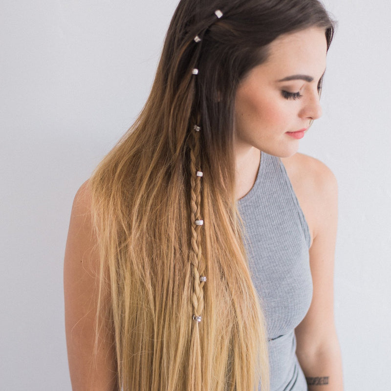 Clip-In - Laced Hair Clip-In Extensions Ombré #2/10/16 (Autumn Ombré)