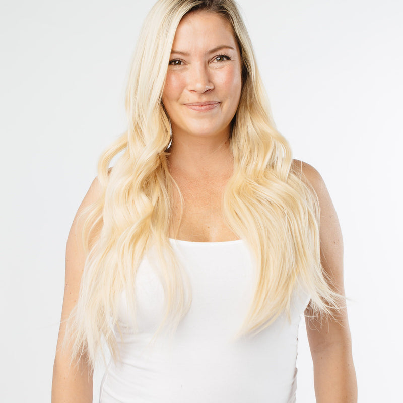 Clip-In - Laced Hair Clip-In Extensions Ombré #8/613