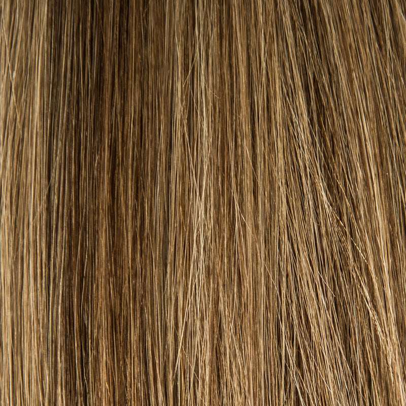 Laced Hair Keratin Bond Extensions Dimensional #4/8 (Cappuccino)