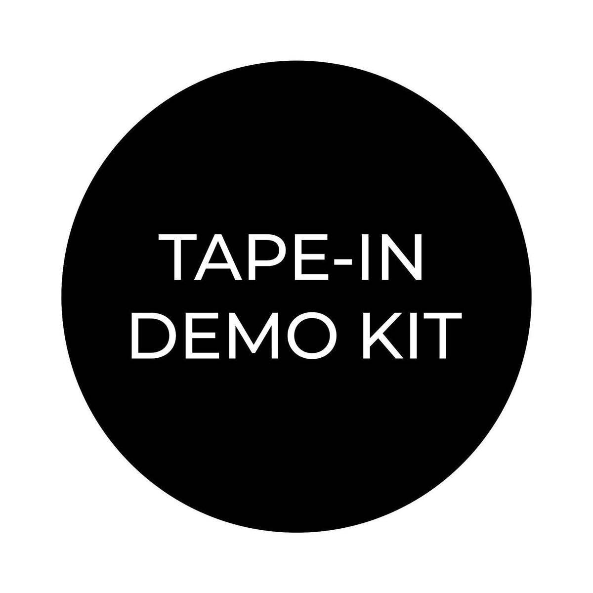 FREE Tape-In Demo Kit