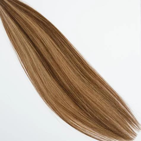 Hand_Tied_Halfsies - Halfsies Hand Tied Weft Extensions Dimensional #4/8 (Cappuccino)