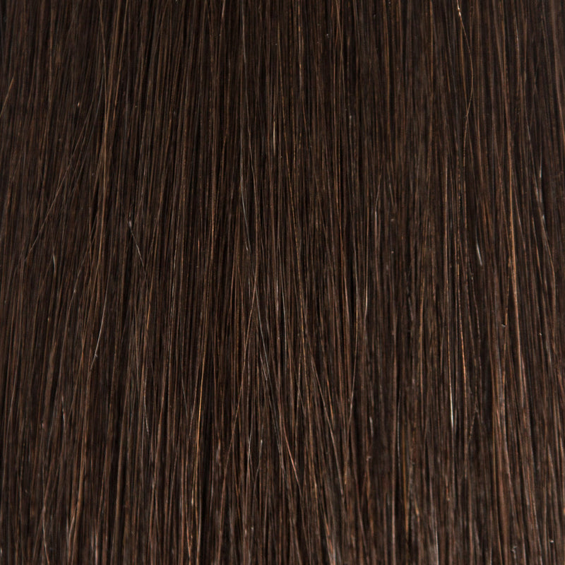 Hand_Tied_Weft - Laced Hair Hand Tied Weft Extensions #1B (Dark Roast)