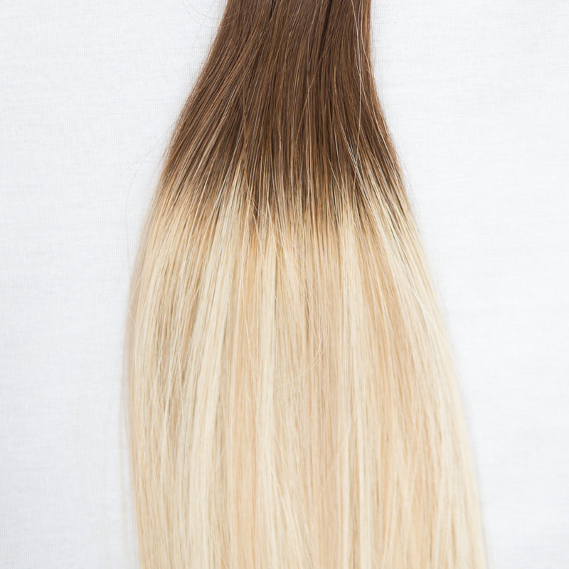 Hand_Tied_Weft - Laced Hair Hand Tied Weft Extensions Rooted #2/D18/22