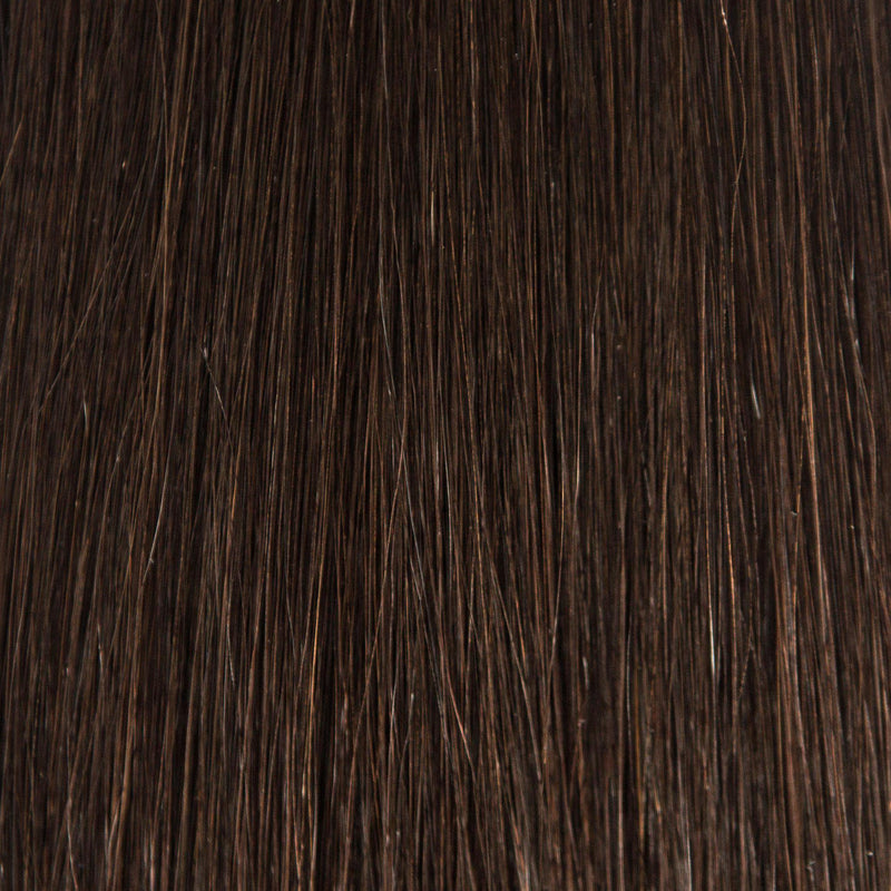 InterLaced Waved Tape-In Extensions #1B (Dark Roast)
