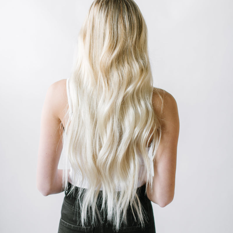 Keratin - Laced Hair Keratin Bond Extensions #60 (Platinum)