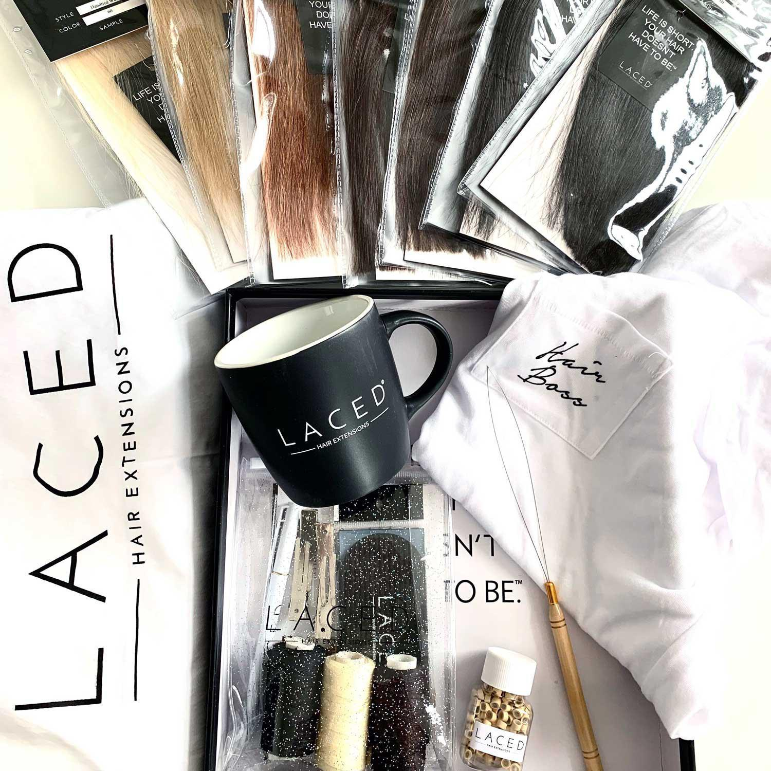 Laced Hair Academy Standard Refresher Kit