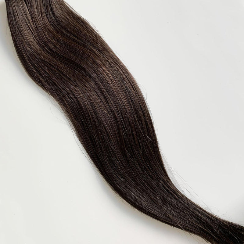 Laced Hair Machine Sewn Weft Extensions #2A
