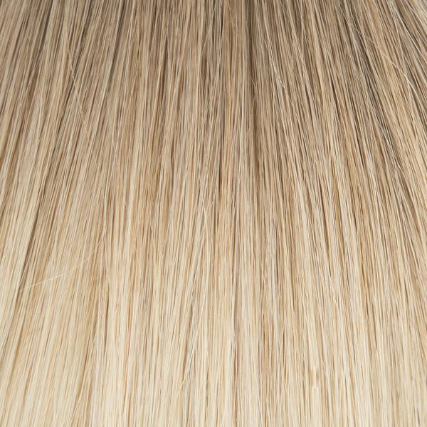 Laced Hair Machine Sewn Weft Extensions Rooted #8/60