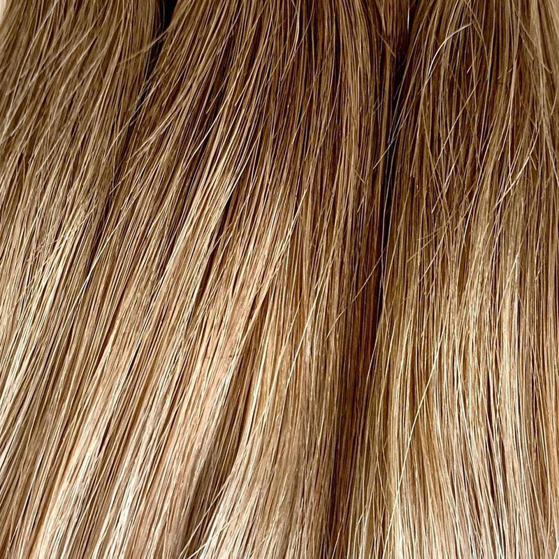 Machine_Sewn_Weft - Laced Hair Machine Sewn Weft Extensions Rooted #6/D8/60