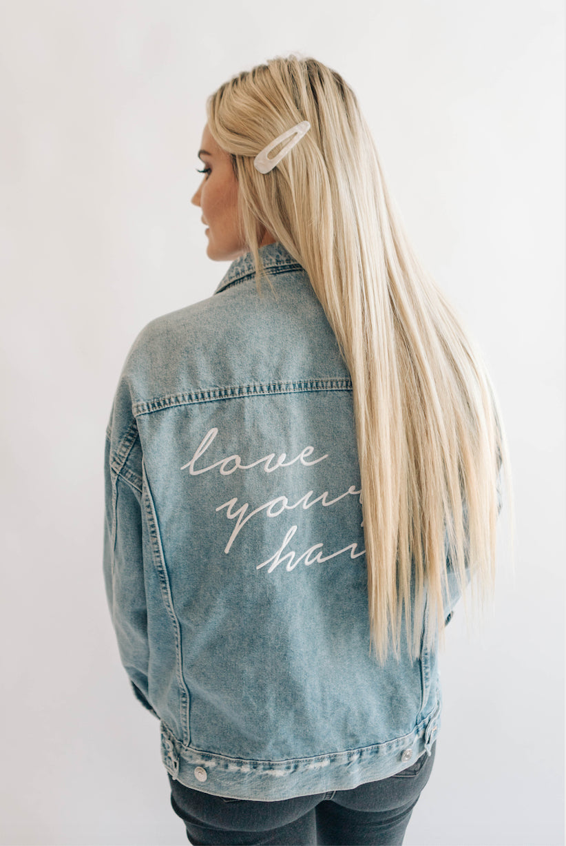Merch - Laced Hair Denim Jacket
