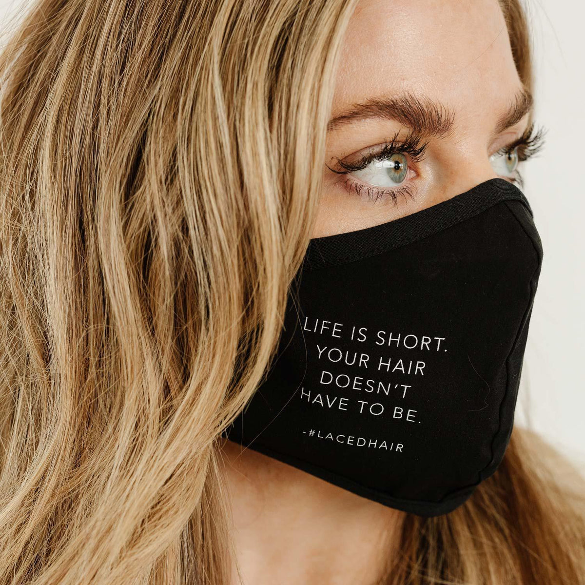 Merch - Laced Hair Face Masks