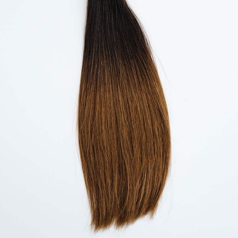 Tape-In - Laced Hair Tape-In Extensions Ombré #1B/5 (Caramel Latte)