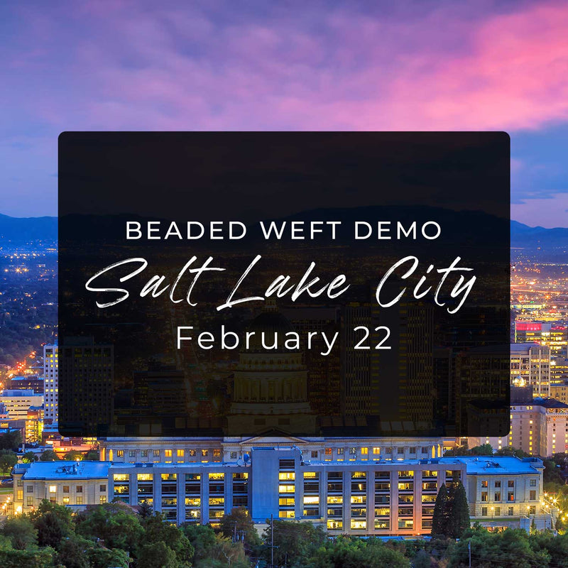 Ticket - Laced Academy Beaded Weft Demo (Salt Lake City, UT)