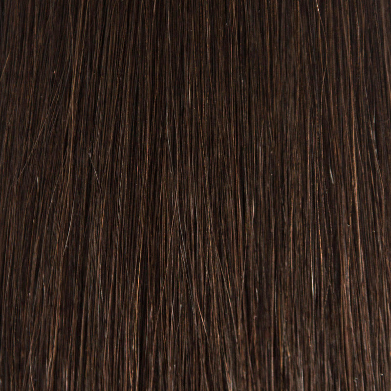 Waved By Laced Hair - Waved By Laced Hair Hand Tied Weft Extensions #1B (Dark Roast)
