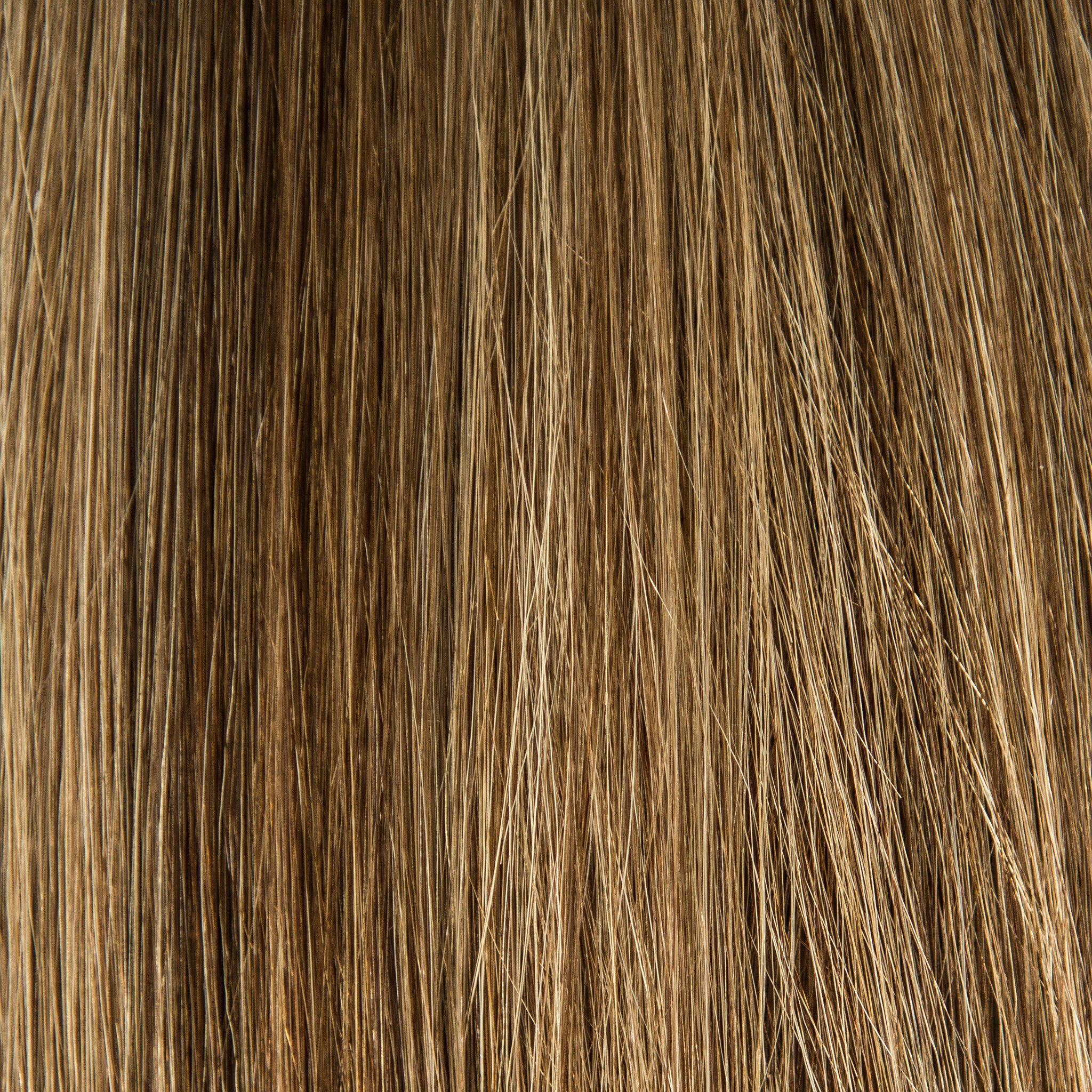 Waved By Laced Hair - Waved By Laced Hair Hand Tied Weft Extensions Dimensional #4/8 (Cappuccino)