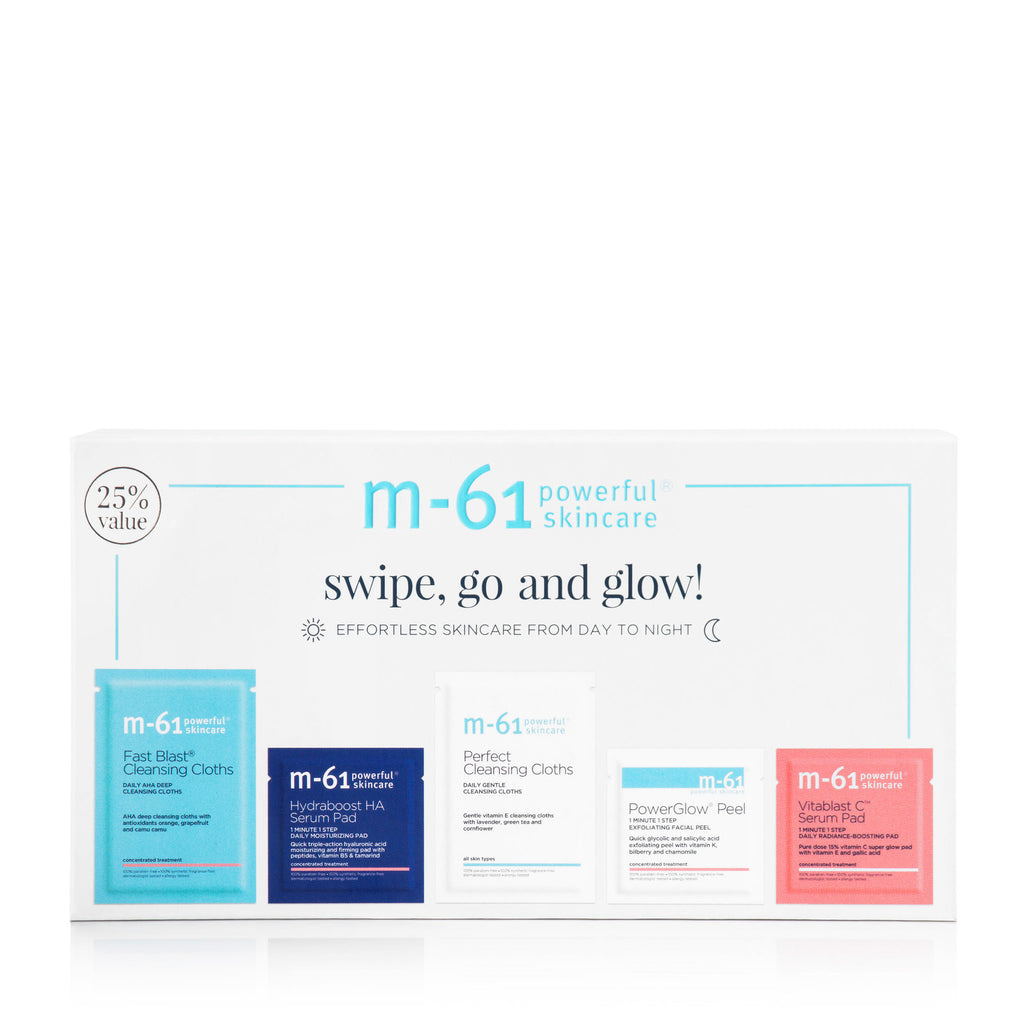 m-61 Swipe, Go and Glow! Skincare Set
