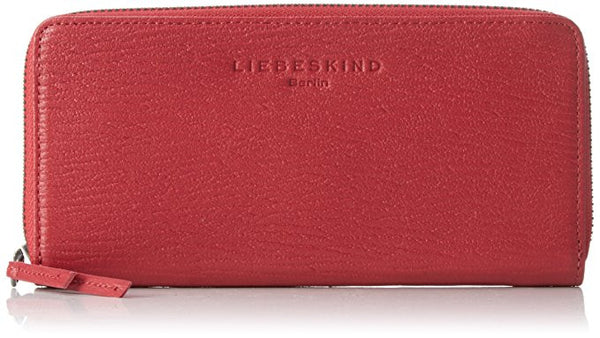Liebeskind Berlin Grainy Sally R Wallet Cherry Blossom Red