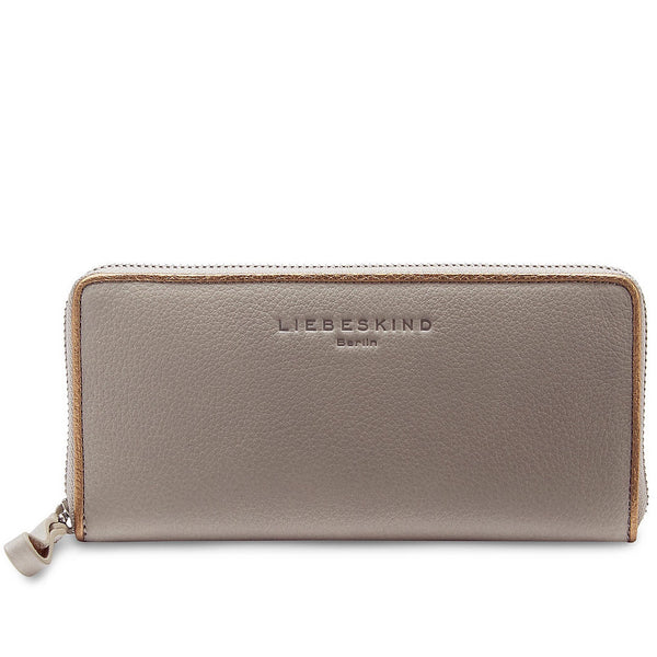 Liebeskind Berlin Grainy Metallic Sally B Wallet New Flint
