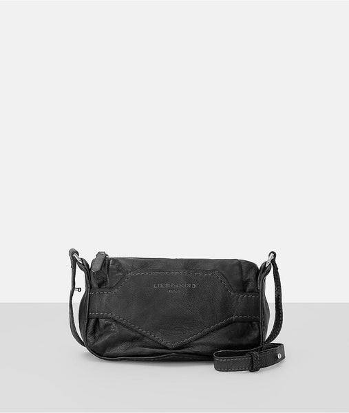 Liebeskind Berlin Tumbled Goat Matala Crossbody Bag Nairobi Black