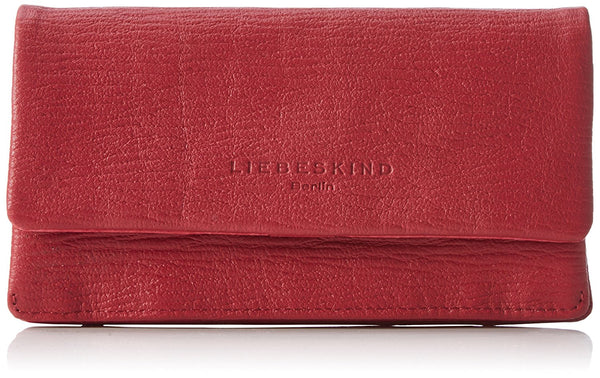 Liebeskind Berlin Grainy Slam R Wallet Cherry Blossom Red