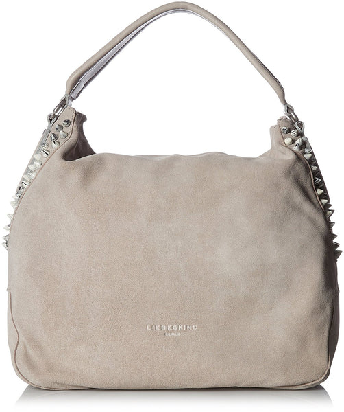 Liebeskind Berlin Crosta Yokohama F7 Shoulder Bag Hyena Grey