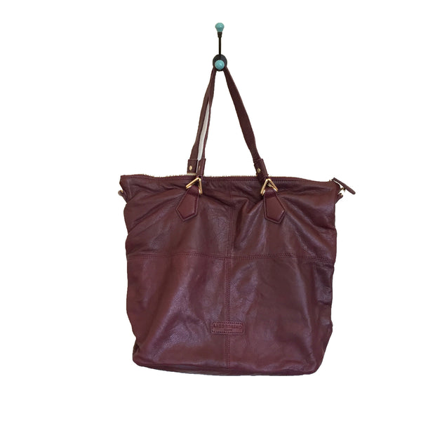 Liebeskind Berlin Triangle Bine Shoulder Bag New Chestnut