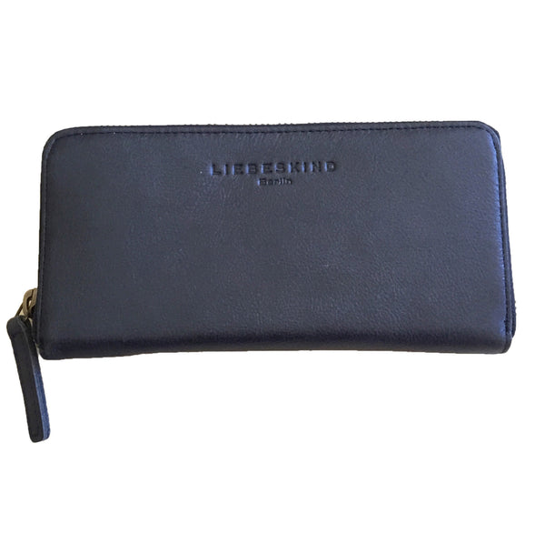 Liebeskind Berlin Glossy Sally B Wallet Dark Blue