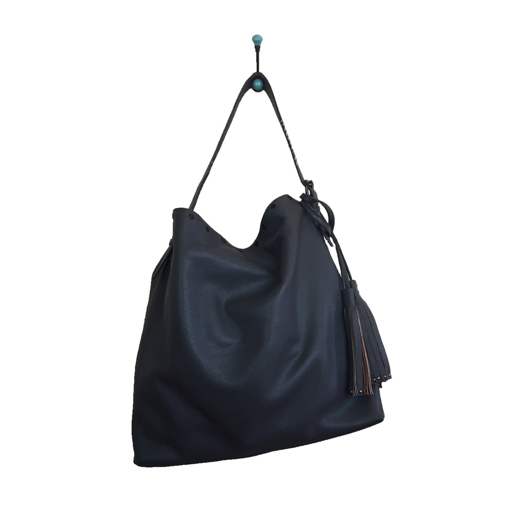 LAGGO LA Reed Leather Hobo Grey