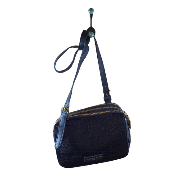 Liebeskind Berlin Repile Maike Crossbody Bag Dark Blue