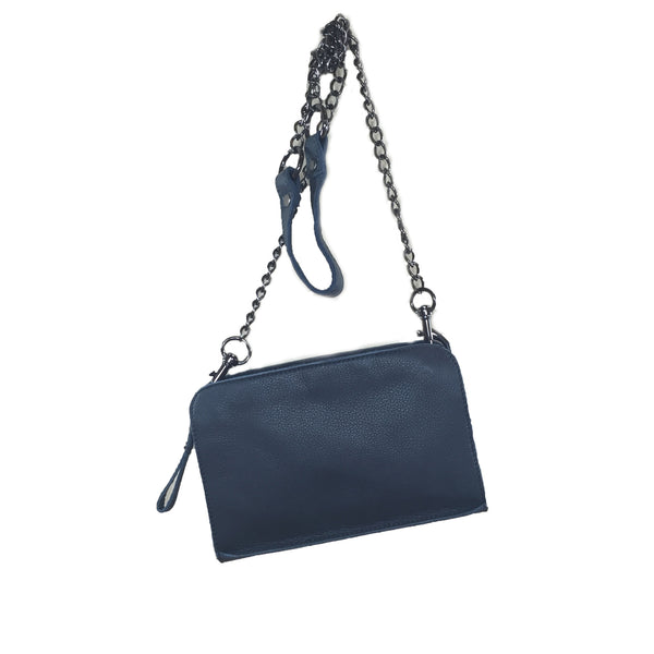 Liebeskind Berlin Vintage Crissy Crossbody Bag New Dark Blue