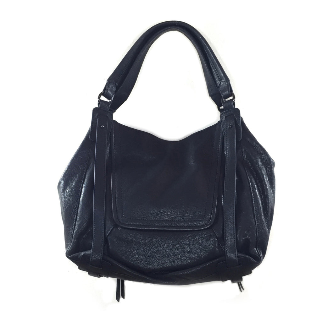 Kooba Goat Jonnie Shoulder Bag Black