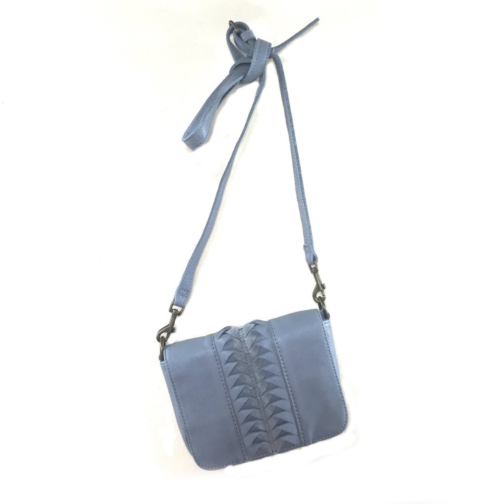Liebeskind Berlin Lasercut Vintage Licia Crossbody Bag New Night Blue Light