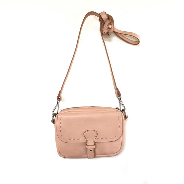 Liebeskind Berlin Vegetable Crust Mailin Crossbody Bag Peach Creme